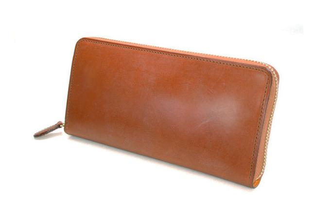THIN BRIDLE (シンブライドル) ラウンドファスナー長財布