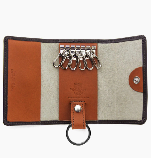 S9692 KEY CASE WITH RING / DERBY COLLECTION