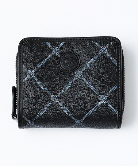 683KOL ノッツ オブ ラック [二つ折り財布] ブラック