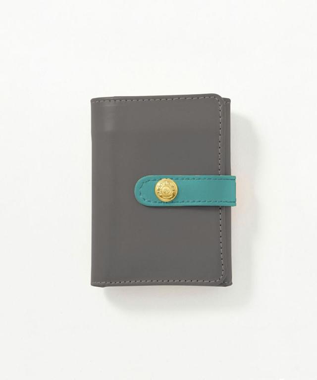 コンパクト三つ折り財布 (コインケース付き)(グレイスコレクション)