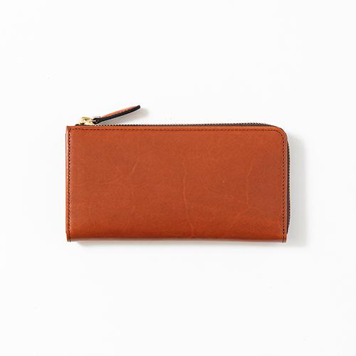 saddle pull up -L zip long wallet-
